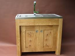 Brushed Stainless Steel Backsplash by Kitchen Sinks Farmhouse Stand Alone Sink Triple Bowl Corner