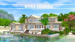 build house the sims 3 speed build house building bora seaside