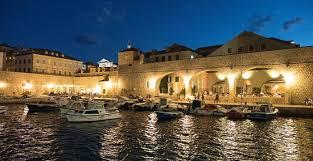 Gradska Kavana Arsenal Restaurant View To The Port Of Dubrovnik Gradska Kavana Arsenal