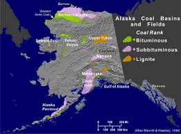 Map Of Seward Alaska by Overview Of Alaska U0027s Coal Basins Alaska Energy Wiki