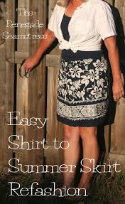 hawaiian pattern skirt diy a girl can at least dream skirt the renegade seamstress