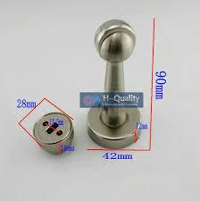Cabinet Door Stop 2pcs Lot 90mm Elongated Type Stainless Steel Magnetic Door