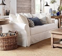 pottery barn basic sofa slipcover pb basic sofa slipcover conceptstructuresllc com