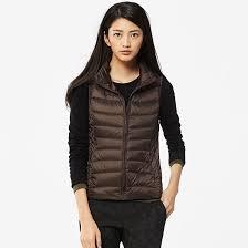 light brown vest womens uniqlo women ultra light down vest review slant
