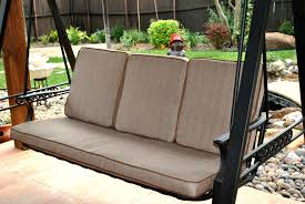 oversized wicker porch swing bed cushions 36670 interior decor