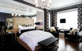 bedroom modern black white bedroom ideas with black fabric plain