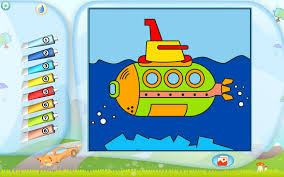 submarine coloring printables apps kids