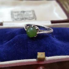 jade ring art deco fine jewellery ebay