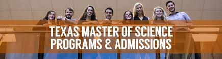 texas master of science programs admissions u2013 admissions