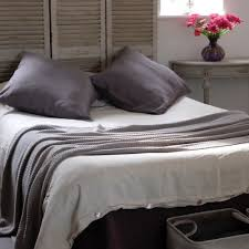 new range of contemporary linen bedding from oscar and french