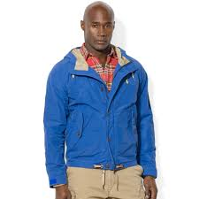 Big And Tall For Mens Clothes Ralph Lauren Polo Big And Tall Hooded Waxed Cottonnylon Anorak In