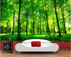 popular nature wall mural buy cheap nature wall mural lots from custom nature wall murals green forest landscape used in the bedroom tv ktv wall waterproof