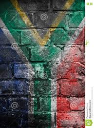 Image Of South African Flag Grungy South African Flag On A Wall Stock Photo Image 79357642
