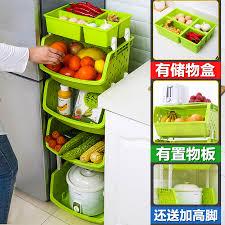 fruit and vegetable basket vegetable storage baskets kitchen vegetables shelf floor