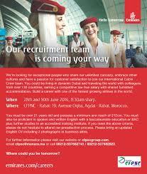bureau de recrutement dubai emirates recrute des hôtesses de l air stewards au groupe cfpnc