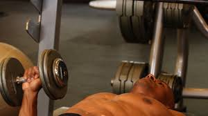 how to do one arm dumbbell bench press chest workout youtube