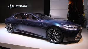 lexus concept lf lc lf lc concept heralds future lexus fuel cell flagship sedan auto