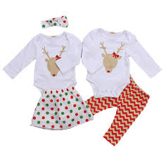 matching baby boys nose reindeer romper