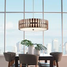 semi flush dining room light introducing kichler modern lighting
