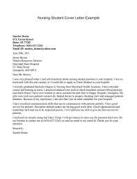 Sample Resume Nursing Student by Sample Resume Cover Letter Nursing Student