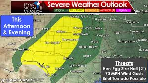 Severe Weather Map Level 2 Severe Weather Risk Today Level 4 Risk Of Severe Weather