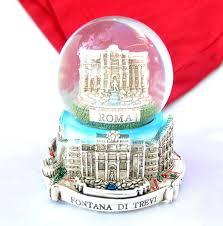 italiano souvenir snowdome italy snow globe rome fontana di trevi