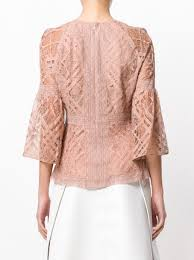 sleeve lace blouse burberry bell sleeve lace blouse 742 buy aw17 fast