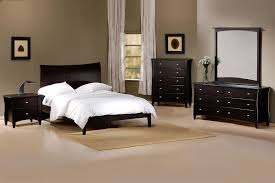 Modern Bedroom Furniture Atlanta Apollo Contemporary Solid Wood Bedroom Set In Full Queen Or King