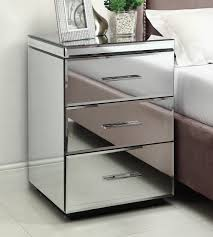 Bed Side Tables by Cheap Mirrored Bedside Table Home Design Ideas