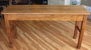 narrow sofa table plans tables cheap building plansnarrow