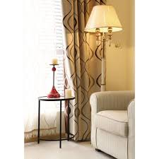 Curtains On Sale Geometric Jacquard Polyester Contemporary Insulated Living Room