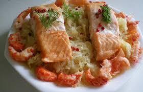 cuisiner choucroute cuite choucroute de la mer recette dukan pl par nathy recettes et forum