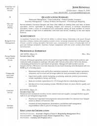 Professional Achievements Resume Sample by Chef Resume Template Resume Template And Professional Resume