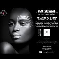 master makeup classes attend black makeup masterclass in this summer connect nigeria