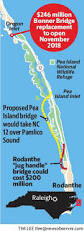 Map Of Outer Banks Nc Road Worrier Bonner Replacement Bridge Starting After Years Of