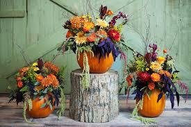 creative of thanksgiving wedding centerpieces pumpkin inspired