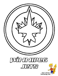 nhl logo coloring pages ice hard hockey coloring pictures nhl