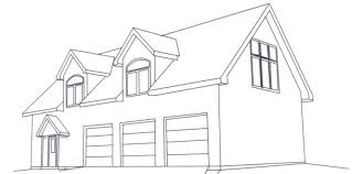 Garage Floor Plans With Living Quarters Double Duty 3 Car Garage Cottage W Living Quarters Hq Plans