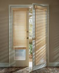 image of diningroom front door window curtains country style