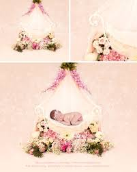 iron bed chair with flowers and veils beautiful digital