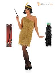 20s Halloween Costumes Charleston Flapper Fancy Dress Ladies 1920s Roaring 20s Costume