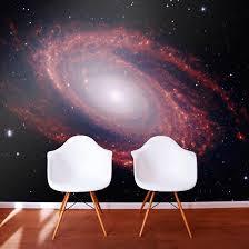 galaxy wall mural outer space wallpaper murals