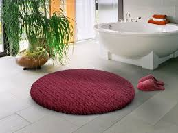 Round Red Rugs Bathroom Ideas Awesome Round Bathroom Rugs Ideas Embedbath
