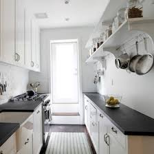 Narrow Kitchen Design Ideas Small Narrow Kitchen Design Homepeek