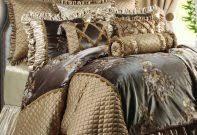 Fieldcrest Luxury Bedding Bedroom Beautiful Pc Luxury Bedding Set Haley Whitenavyteal And