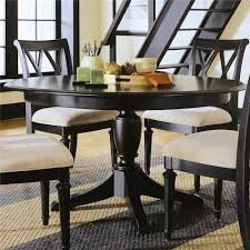 american drew camden dark round table with butterfly leaf