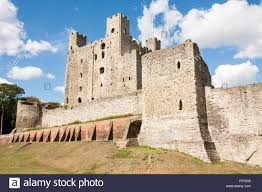 england rochester castle medieval east curtain outer wall and