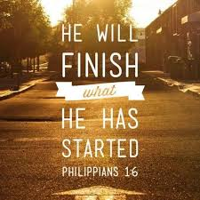 finish started inspirational