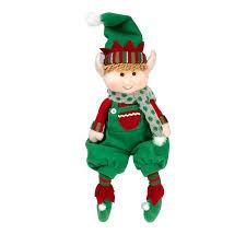amazon com elf plush christmas stuffed toys 12