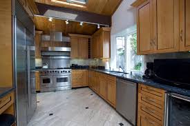 kitchen awesome white dark brown wood glass cool design small